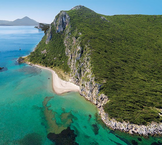Griekse schoonheid op Peloponnesos